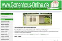 Gartenhäuser von Palmako günstig online kaufen!