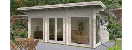ihr neues gartenhaus von palmako jetzt g nstig online kaufen. Black Bedroom Furniture Sets. Home Design Ideas
