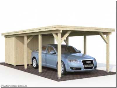 carport karl 2 www gartenhaus. Black Bedroom Furniture Sets. Home Design Ideas