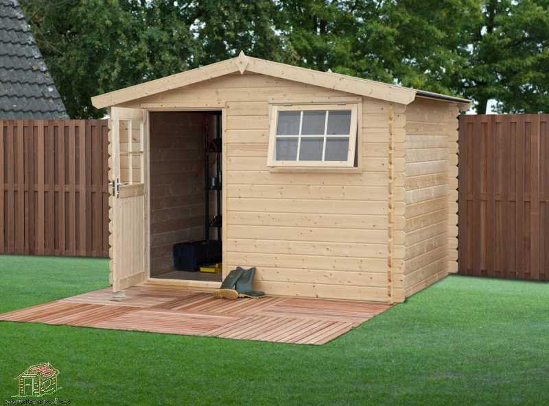 lesena hiša CA2877