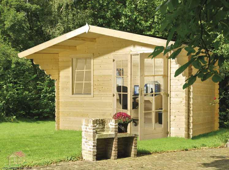 klasična lesena hiša CD5000