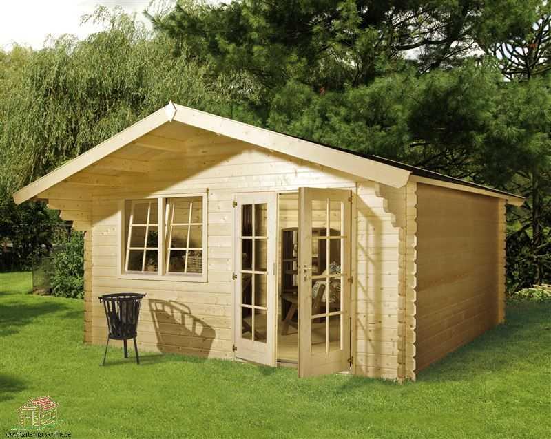 klasična lesena hiša CD5020