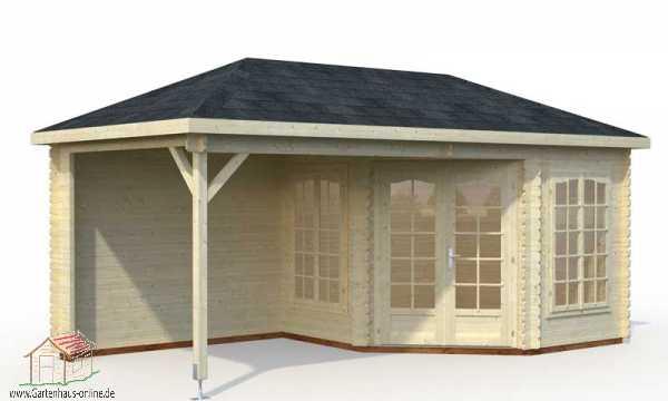 pavillon melanie 4 www gartenhaus. Black Bedroom Furniture Sets. Home Design Ideas