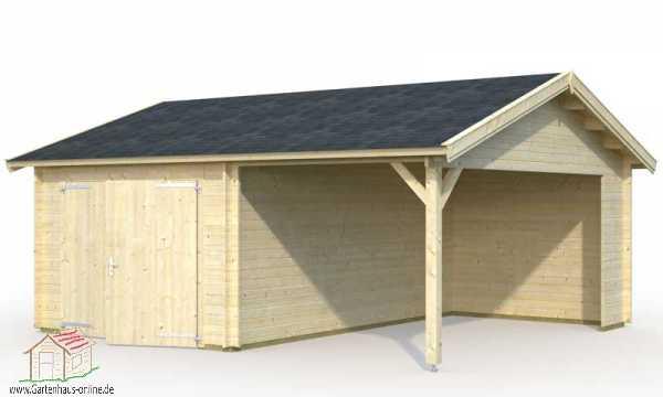 holzgarage roger 6 ht www gartenhaus. Black Bedroom Furniture Sets. Home Design Ideas