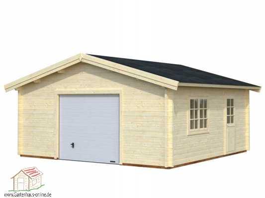 holzgarage roger 7 st www gartenhaus. Black Bedroom Furniture Sets. Home Design Ideas