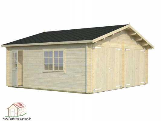 holzgarage roger 8 ht www gartenhaus. Black Bedroom Furniture Sets. Home Design Ideas